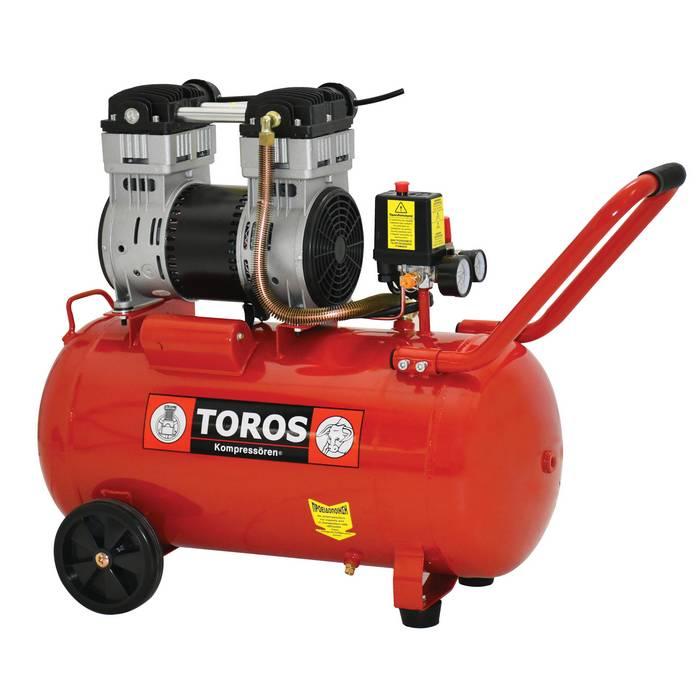 Αεροσυμπιεστής Oil Free SILENT 50Lt TOROS