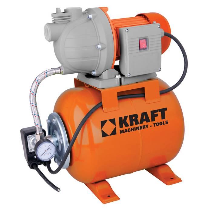 Πιεστικό Συγκρότημα με Δοχείο & Αντλία KRAFT 800W