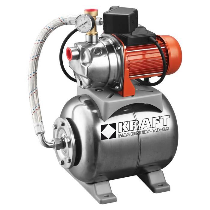 Πιεστικό Συγκρότημα με Δοχείο & Αντλία INOX KRAFT